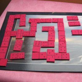 Dominos en feutrine