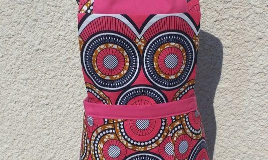Couture Tablier jupon croisé