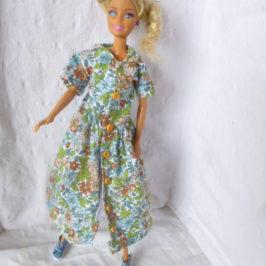 Robe-chemisier longue pour Barbie