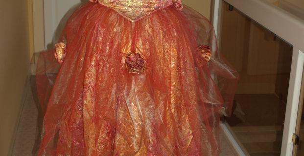 Robe de bal pour Versailles