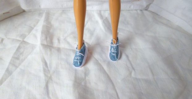 Baskets pour Barbie