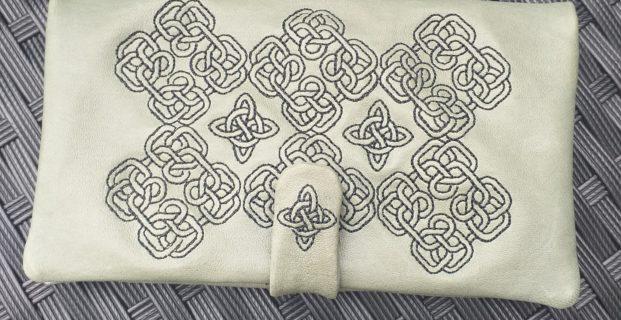Tuto Pochette celtique ITH